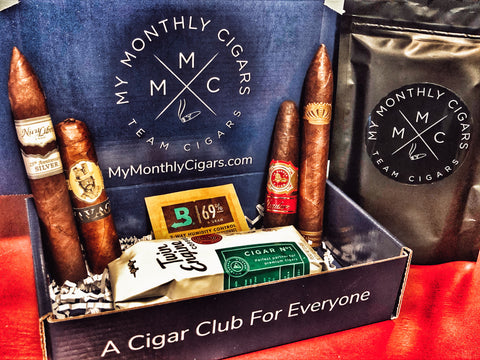 My Monthly Cigars October 2019 Robusto Box