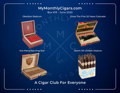 My Monthly Cigars - June 2020 Box