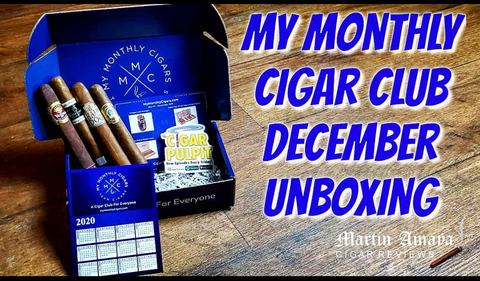 My Monthly Cigars December Box - Martin Amaya Cigar Review