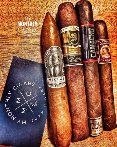 My Monthly Cigars Box #15 - August 2020