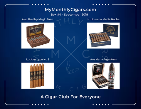 My Monthly Cigars - Box #4 September 2019