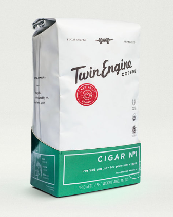 Twin Engine Coffee - Cigar No.1 - My Monthly Cigars
