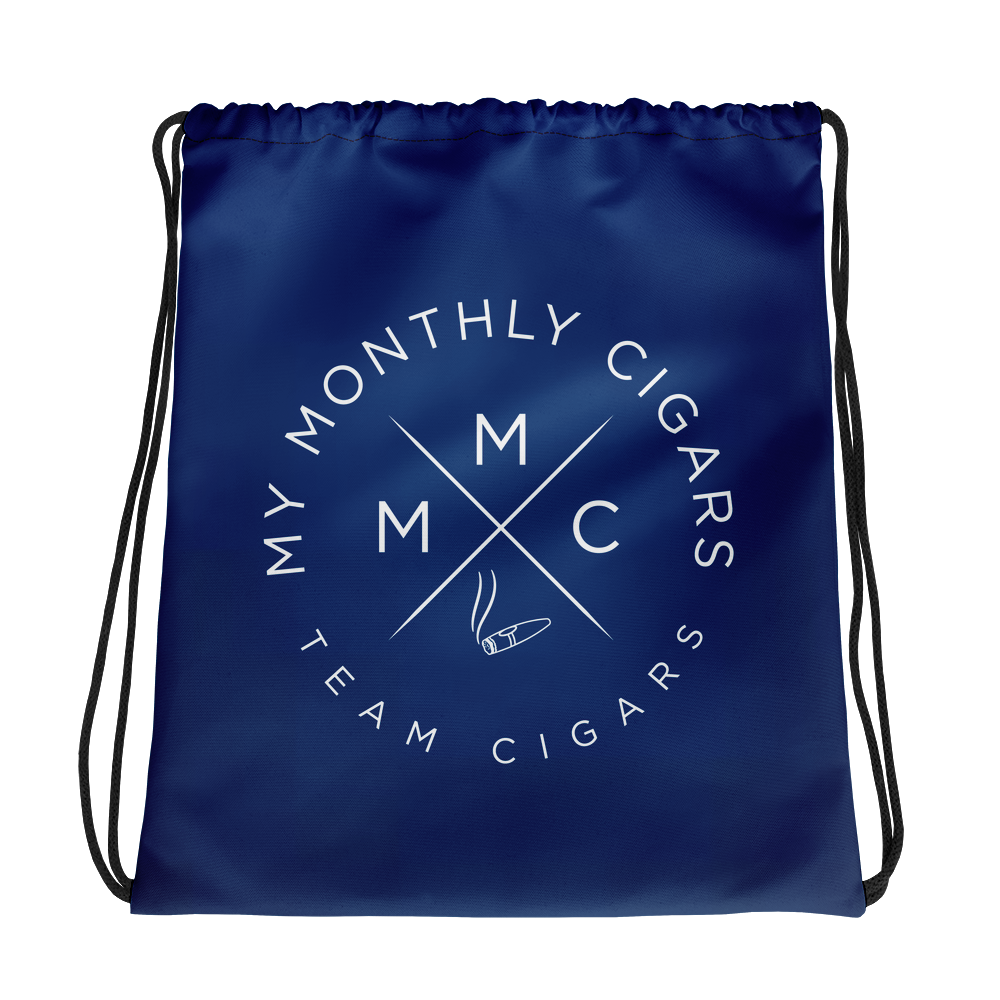My Monthly Cigars Drawstring Bag
