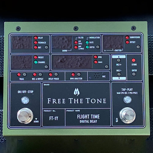 FT-1Y Flight Time Digital Delay (B-STOCK)