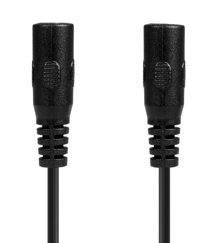 CABLE - FEMALE BARREL PLUG TO FEMALE BARREL PLUG