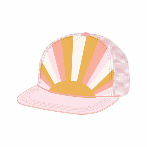 Tiny Whales Sun Child Trucker Hat