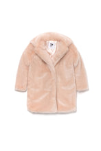 Load image into Gallery viewer, Omamimini Faux Fur Coat 2T