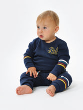 Load image into Gallery viewer, Sol Varsity Stripe Pullover Baby
