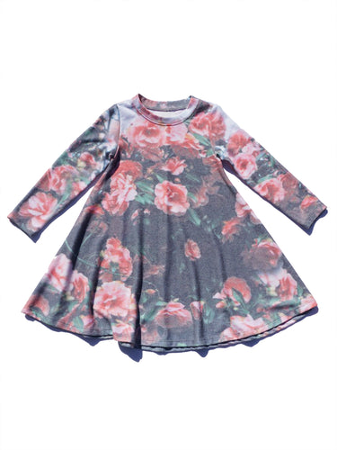 Sol Angeles Cherry Blossom Hacci Dress
