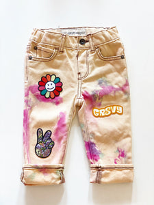"The Denim Project  ""Groovy"" Baby Jeans Size 9-12 Months"