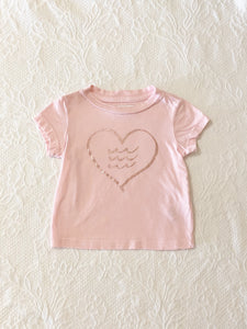 Sol Angeles Corazon Crew tee 6 month