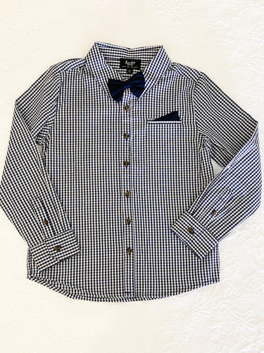 Bardot Junior Gingham Shirt Size 6
