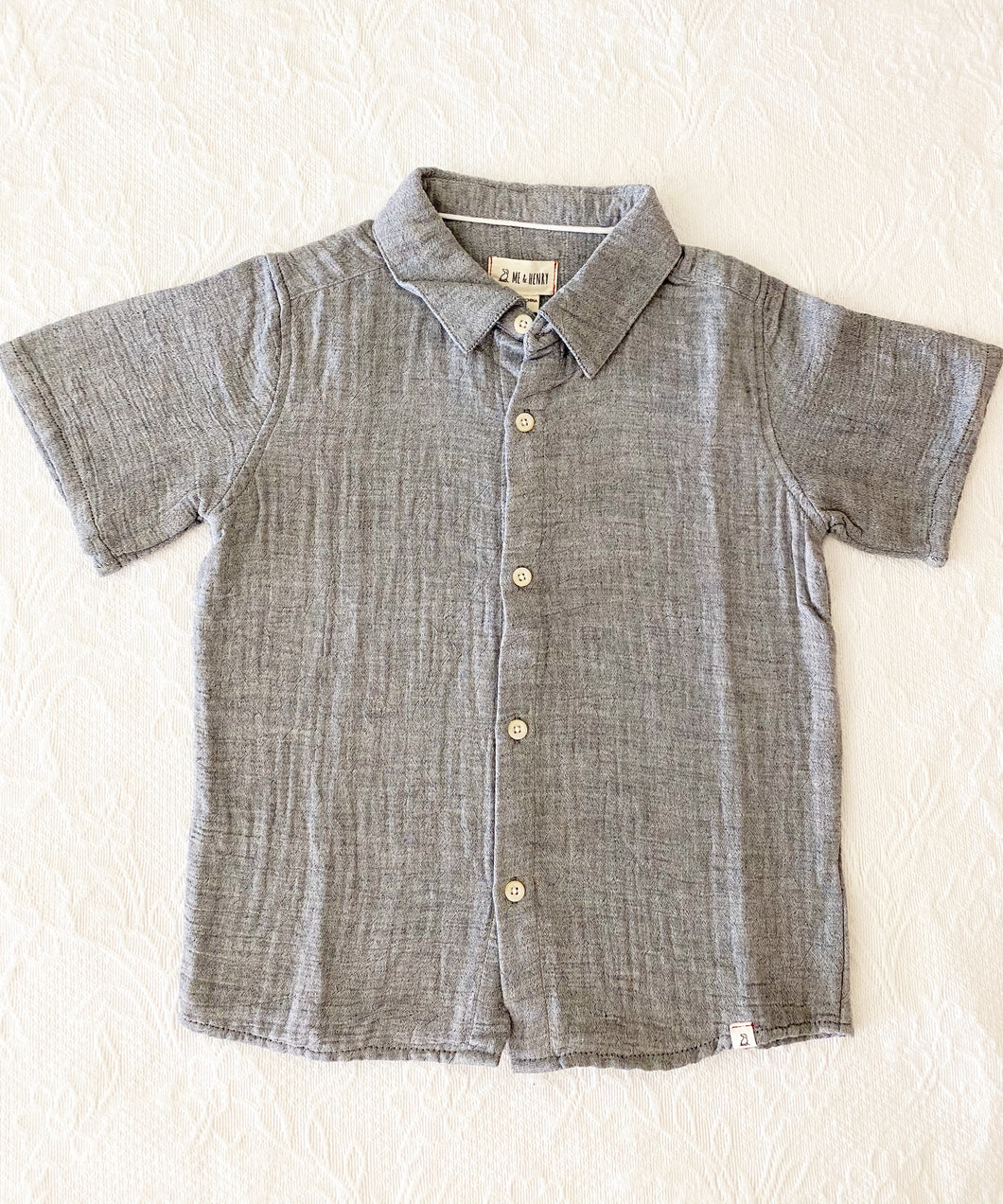 Me + Henry Woven Shirt 7-8y