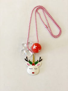 Tula  & Aspen holiday unicorn necklace