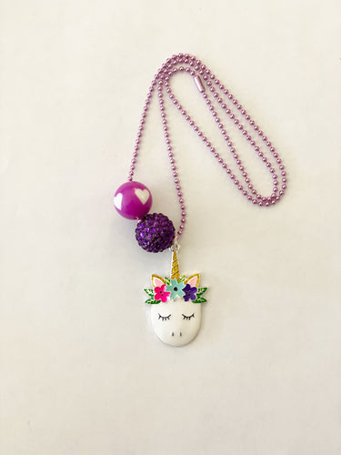 Tula & Aspen Unicorn necklace
