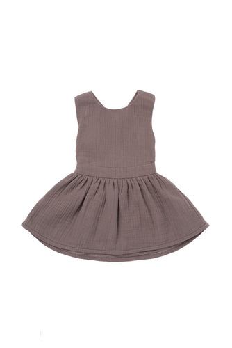 Omamimini Pinafore gauze dress