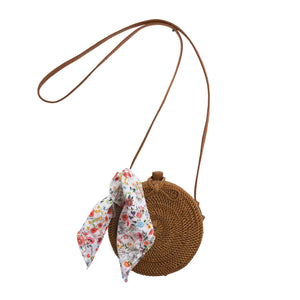 Alex & Ant Rattan Roundie Bag