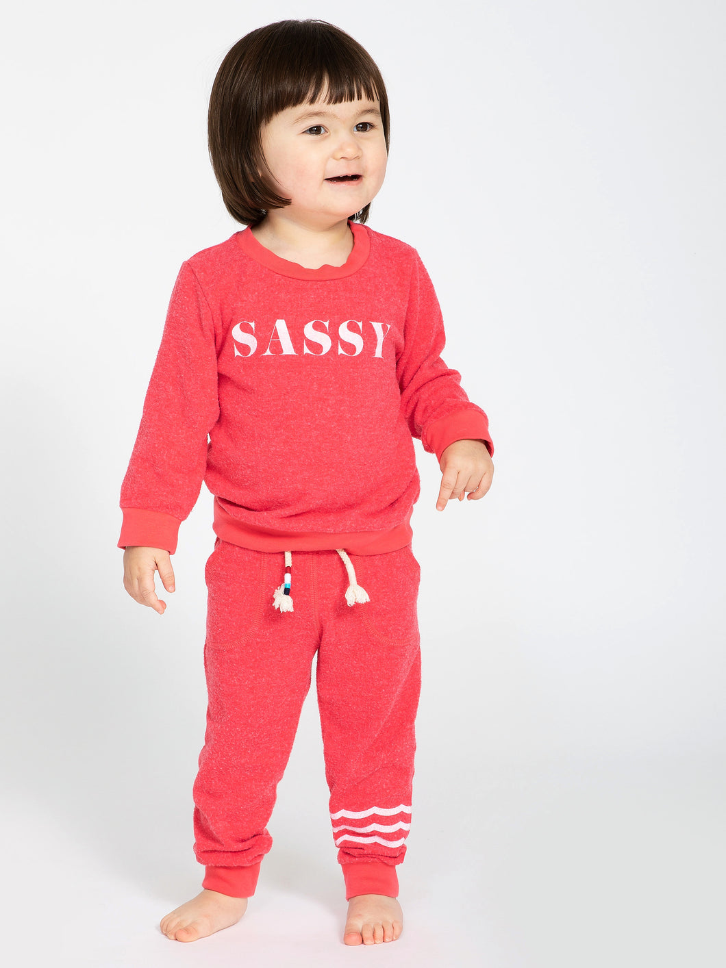 Sol Angeles baby sassy pullover