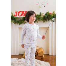 Load image into Gallery viewer, Skylar Luna White Star long sleeve Pajama
