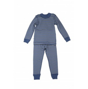 Skylar Luna Blue Stripe long sleeve Pajamas
