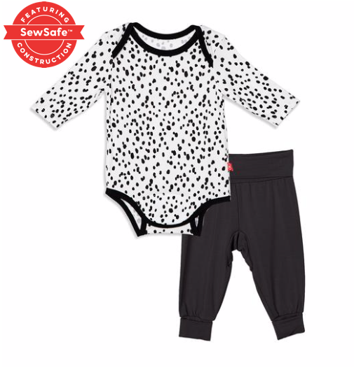 MagneticMe seeing spots Modal bodysuit and haram pant