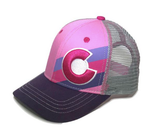 YoColorado - Kids Incline Pink Berry Hat