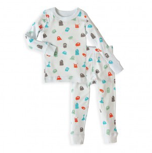 Skylar Luna Monster long sleeve Pajamas