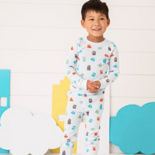 Load image into Gallery viewer, Skylar Luna Monster long sleeve Pajamas