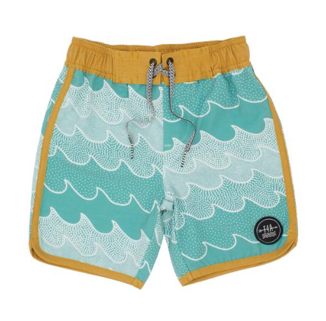 Feather 4 Arrow Cosmic Waves Board Short