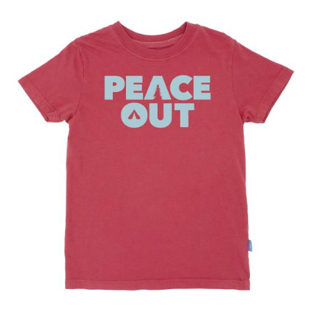 Feather 4 Arrow Peace Out Tee
