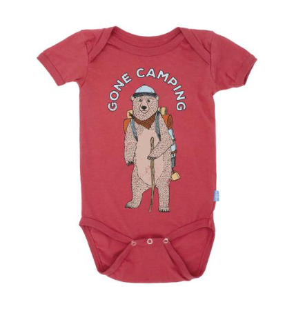 Feather 4 Arrow Gone Camping Onsie