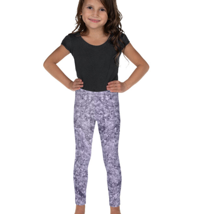 The Chakra Girl Wisdom Legging PURPLE