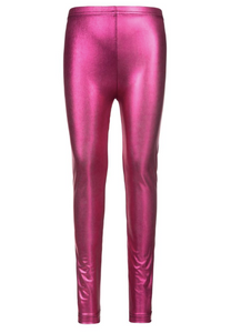 Appaman Legging Metallic Fuchsia