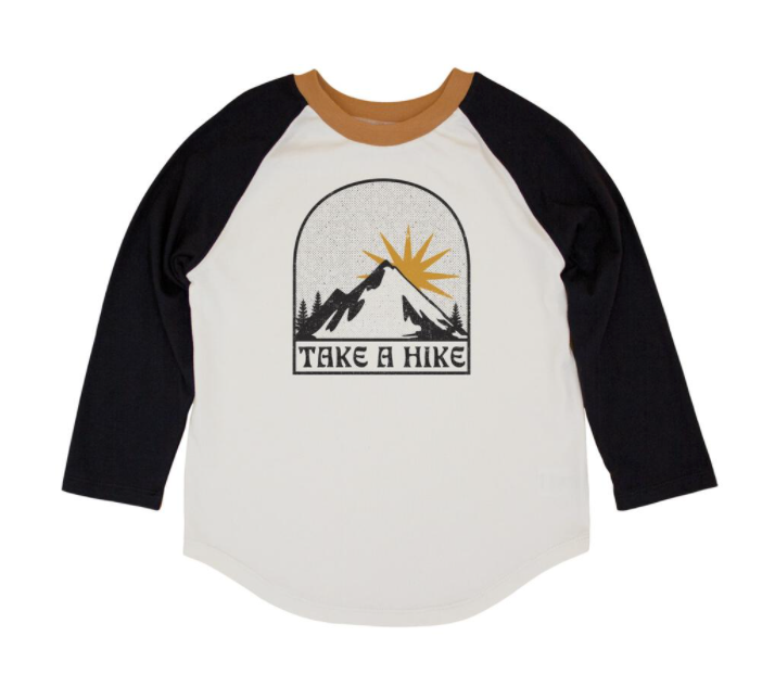 Feather 4 Arrow Take a Hike Raglan