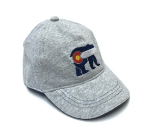 Yo Colorado Cubby Bear hat Blue