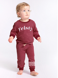 Sol Angeles Waves Hacci Jogger Cherry Baby
