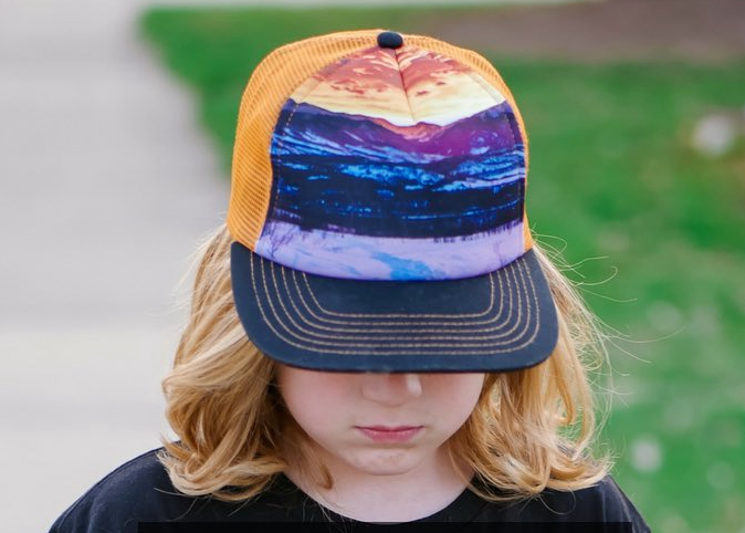 Orange Mountain Hat