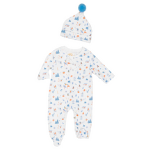 Load image into Gallery viewer, Petidoux Morning  Ski Onsie and Hat Set