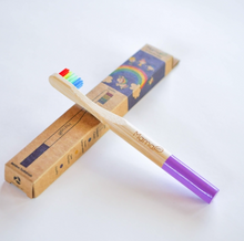 Load image into Gallery viewer, Mama P  Equality Bamboo Toothbrush for Kids
