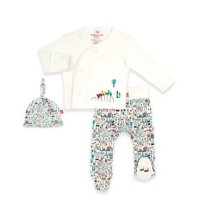 Magnetic Me Fun Fair 3pc Kimono Set