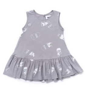 Omamimini Ruffled Tent Dress Size 6-12 months