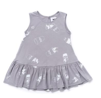 Omamimini Ruffled Tent Dress Size3-6 months