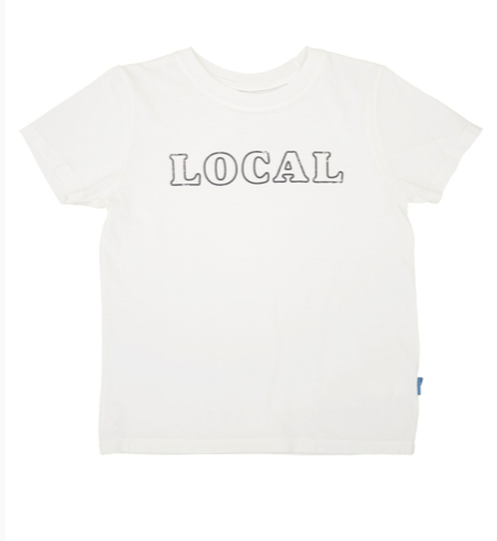Local Tee-Dusty White