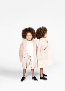 Omamimini Faux Fur Coat 2T