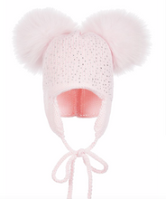 Load image into Gallery viewer, Sparkle Baby Tie Hat