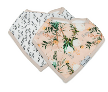 Load image into Gallery viewer, Loulou Lollipop Bandana Bib Set