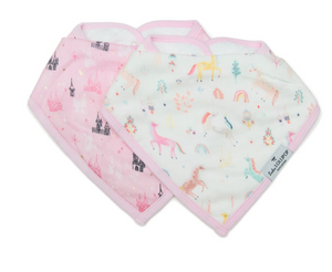 Loulou Lollipop Bandana Bib Set