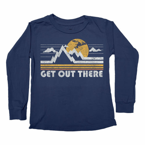 Tiny Whales Get Out There Long Sleeve Tee