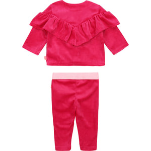 Baby 2 Piece Velour track Suite
