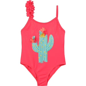 Billieblush Cactus Print Swimsuit